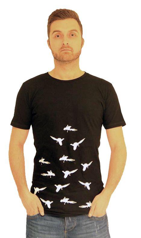 LOVEBIRDS TEE gtwshop.dk #fashion #mode #malefashion #art #streetart #streetfashion #models #tee #tshirt #wicked #birds