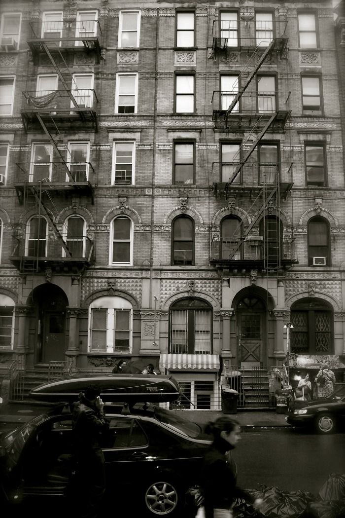 NYC. led zeppelin 'physical graffiti' album cover building