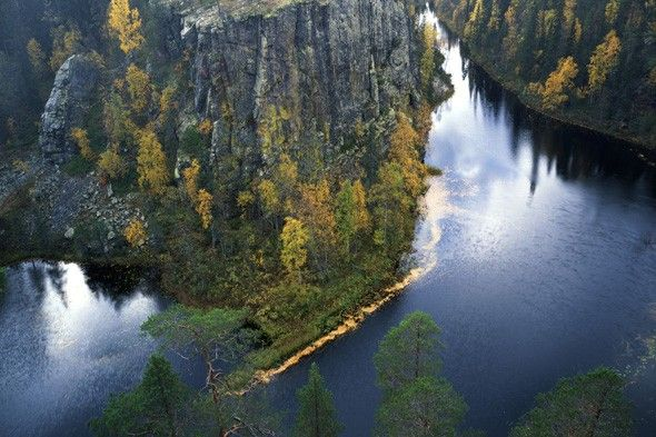 Oulanka National Park is among the world's top 10 magnificent gorges!