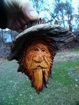 A Gallery of Wood Spirit and Cottonwood Bark Wood Carvings from Stix And Stones Woodcarving.