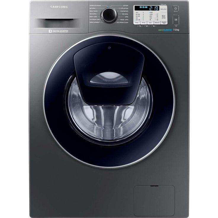 free Samsung AddWash WW70K5413UX/EU A    7kg 1400 Spin Washing Machine in Graphite