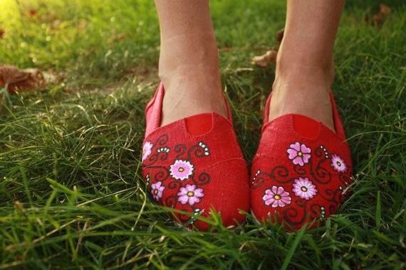 Pinterest Painting Canvas Shoes