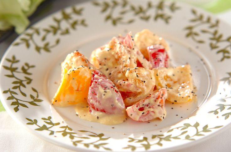レモン汁が入った、さわやかな酸味が良いエビマヨ。丼にもオススメ。さわやかエビマヨ[中華/炒めもの]2010.02.08公開のレシピです。