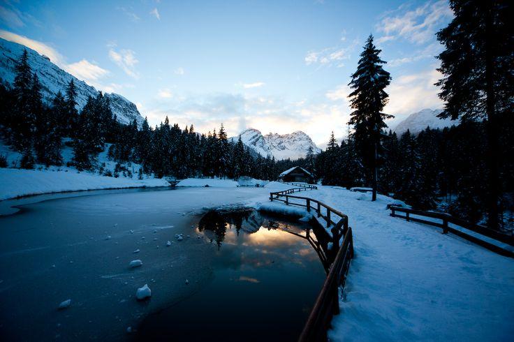 """""""Laghetto Zieglhutte"""" Sappada Plodn Dolomiti Dolomiten Dolomites"""