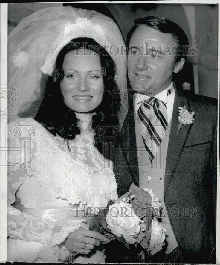 Wedding of Robert Vaughn and Linda Staab. July 01, 1974