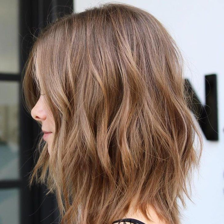 70 Best Light Brown Hair Color Ideas For Your Tran Brown Color Hair Ideas Light Transformation Long Layered Bob Hairstyles Hair Styles Wavy Haircuts