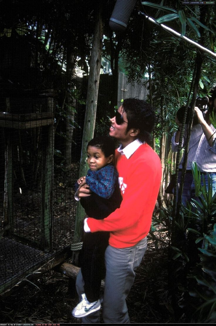 Michael Jackson and Emmanuel Lewis   1984