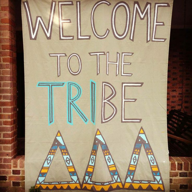 Tri Delta Alpha Mu Chapter The William and Mary Tribe. Change the Deltas to Sigmas
