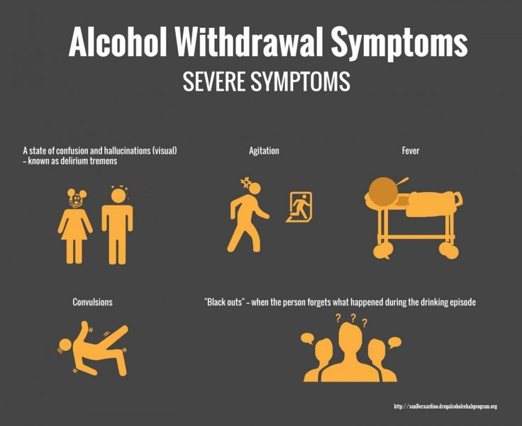 severe alcohol withdrawal symptoms | info graphics on recovery and, Skeleton