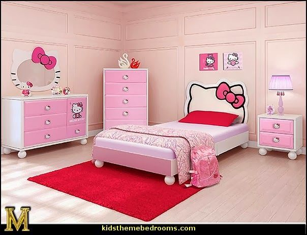 hello kitty bedroom in a box hello kitty bedroom furniture hello kitty bedroom ideas - Decoration Hello Kitty Chambre
