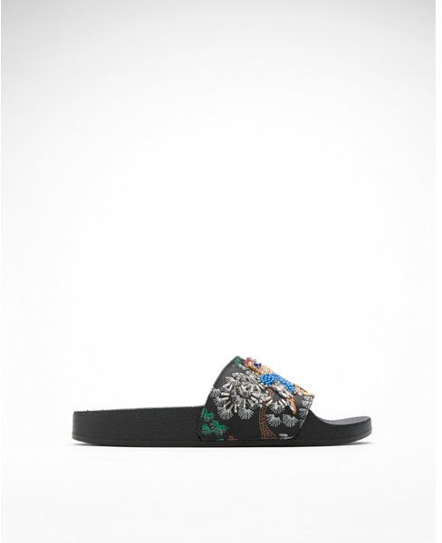 Express steve madden sparkly sandals