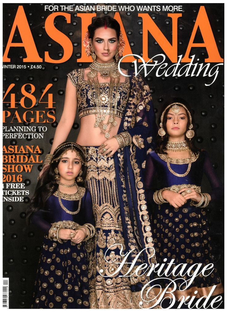 Look out for JCM London featured inside Asiana Wedding magazine, November 2015