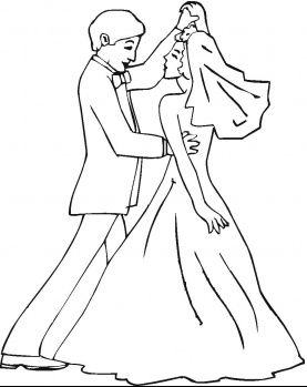 25+ unique Wedding coloring pages ideas on Pinterest