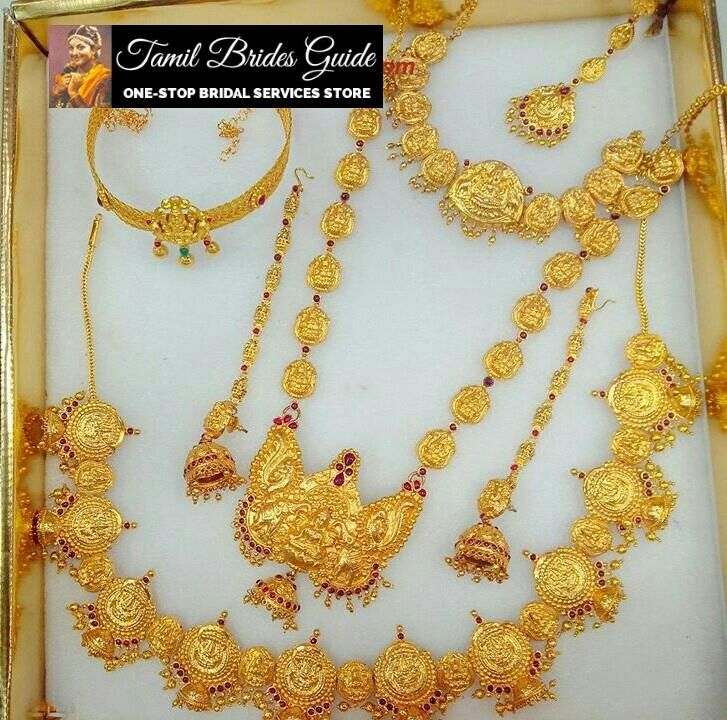 A traditional wedding Jewellery from TBG. Check for more collects in http://tamilbridesguide.com/