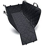 #10: Dog Seat Cover Car Seat Cover for Pets Pet Seat Cover Hammock 600D Heavy Duty Waterproof Scratch Proof Nonslip Durable Machine Washable Soft Pet Back Seat Covers for Cars Trucks and SUVs
