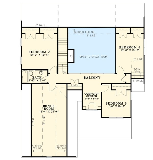 Craftsman Home Plans 2000 Square Feet: 29 Best 2000 To 3000 Sq Ft House Plans Images On Pinterest