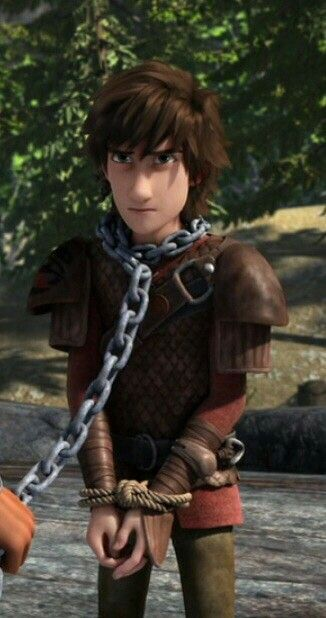 Hiccup is definitely tougher than he looks, I mean, Krogan yanked him back with that chain around his freaking neck!!!!!!!!! That really must have hurt!