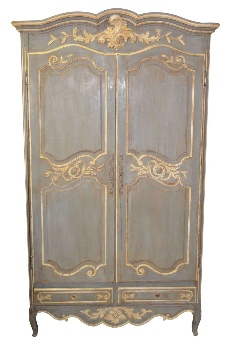 "THAT'S ""PROVINCE"", NOT ""PROVENCE"" FRENCH COUNTRY PROVINCIAL ARMOIRE Louis XV"