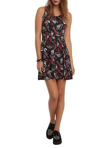 DC Comics Harleen Harley Quinn Print Dress | Hot Topic