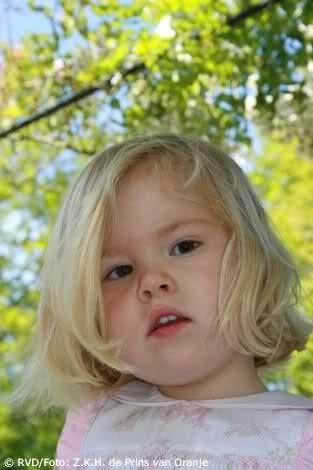 prinses Amalia in 2005 (gemaakt door Willem-Alexander tgv. Alexia's eerste verjaardag)