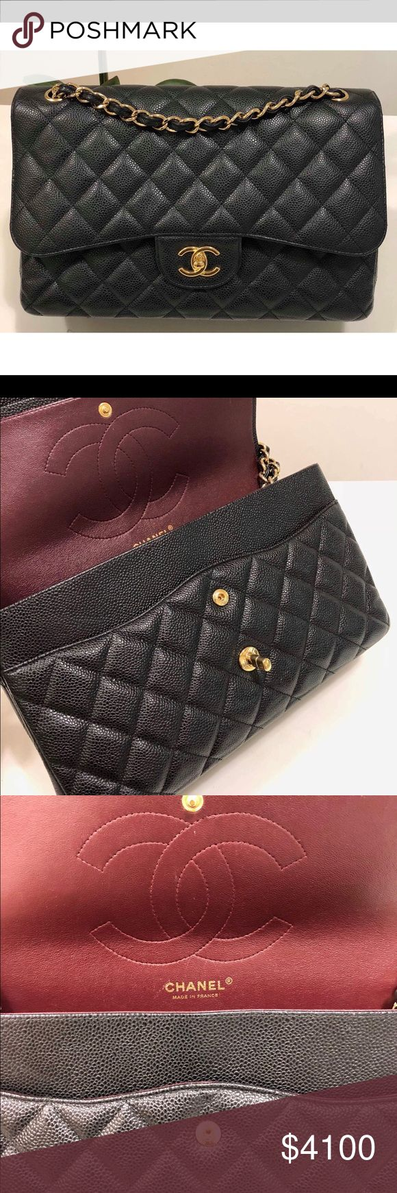Chanel caviar jumbo In very good condition.  Will come with dust bag only CHANEL Bags Shoulder Bags