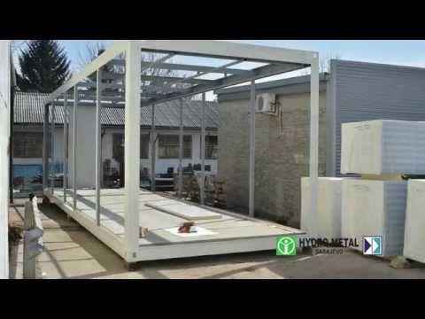 Prefabricated building Systems / Montažni objekti - YouTube
