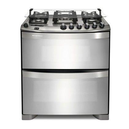 Brastemp - Fogão Brastemp 5 bocas duplo forno - 1548,65