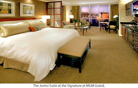 MGM Signature.  Great place to stay in Vegas.