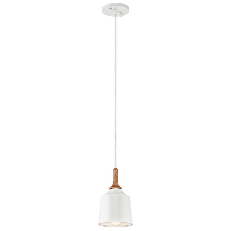 Soft and simple the Danika 1 Light Mini Pendant Light brings smooth modern lines  sc 1 st  Pinterest & 155 best Simply White images on Pinterest | Angles Commercial and ... azcodes.com
