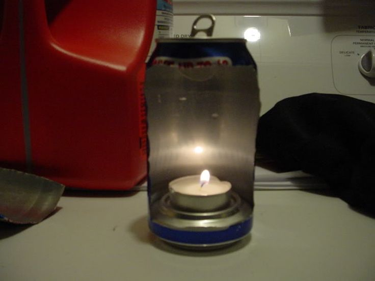 DIY Soda Can Lantern