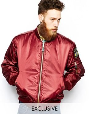 red satin varsity bomber jacket | jackets | Pinterest | Satin, Red ...