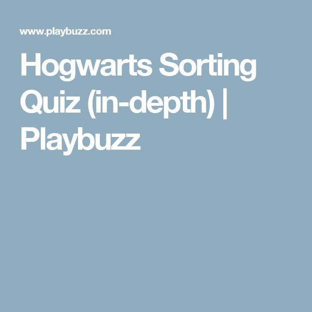 Hogwarts Sorting Quiz (in-depth) | Playbuzz