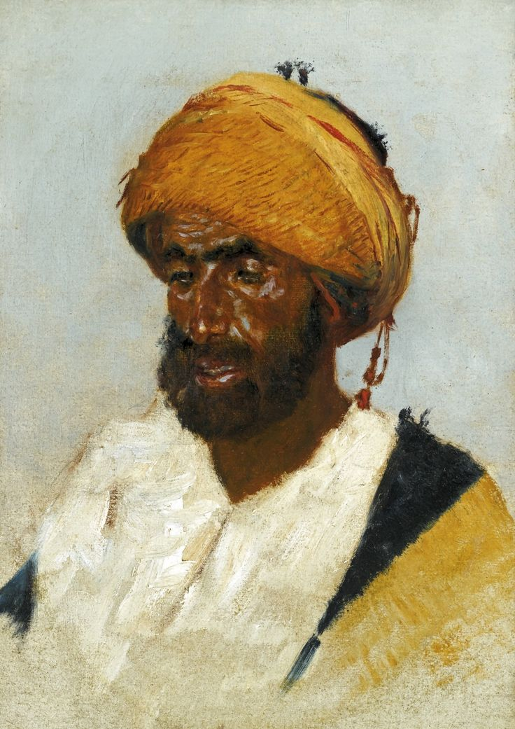 Vereshchagin, Vasily Vasilievich - Portrait of an Arab | Flickr - Photo Sharing!