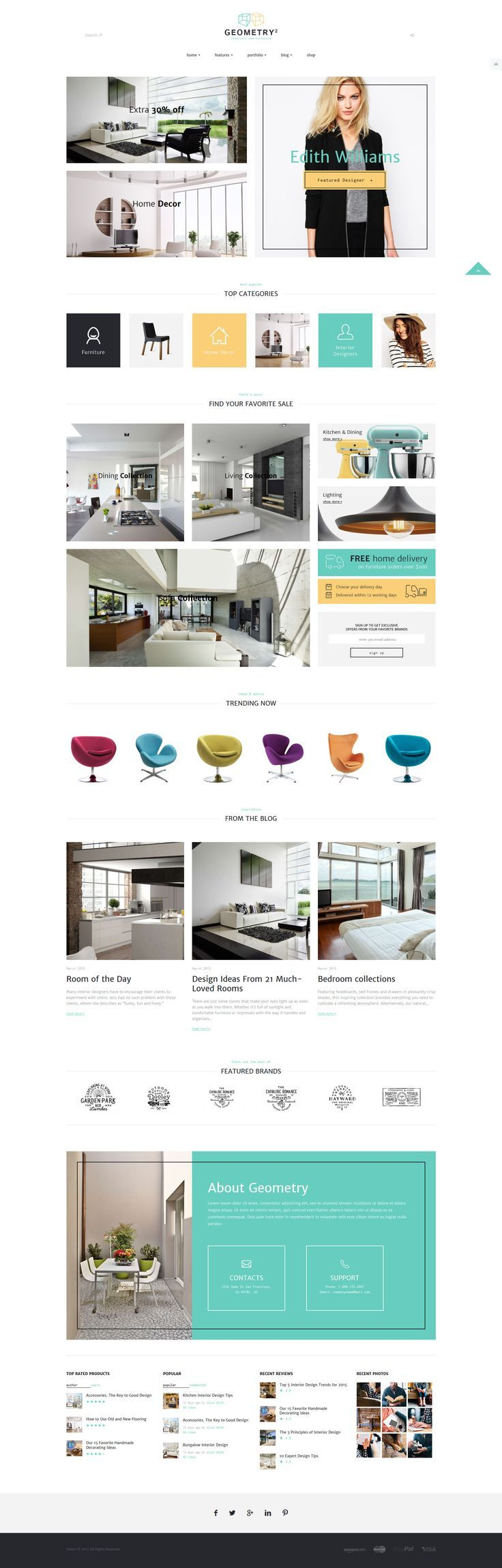 Geometry Interior Design Furniture Layout BookWeb