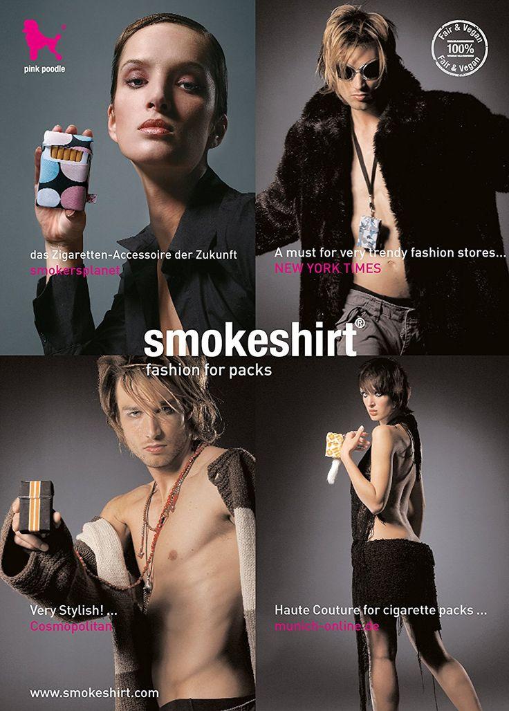 Smokeshirt elegante custodia fumo camicia per pacchetti di sigarette, il rivestimento, il caso, portasigarette per pacchetti di sigarette, AtSea: Amazon.it: Valigeria