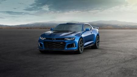 2017 Camaro ZL1 Hyper/Blue Metallic/Available @SirWalterChevrolet - is a Raleigh Chevrolet dealer and a new car and used car Raleigh NC Chevrolet dealership. #WindowSticker