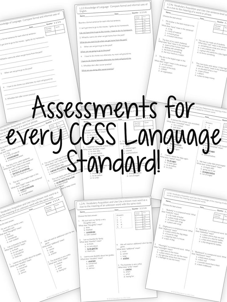 Education to the Core: 2nd Grade Assessments Bundle