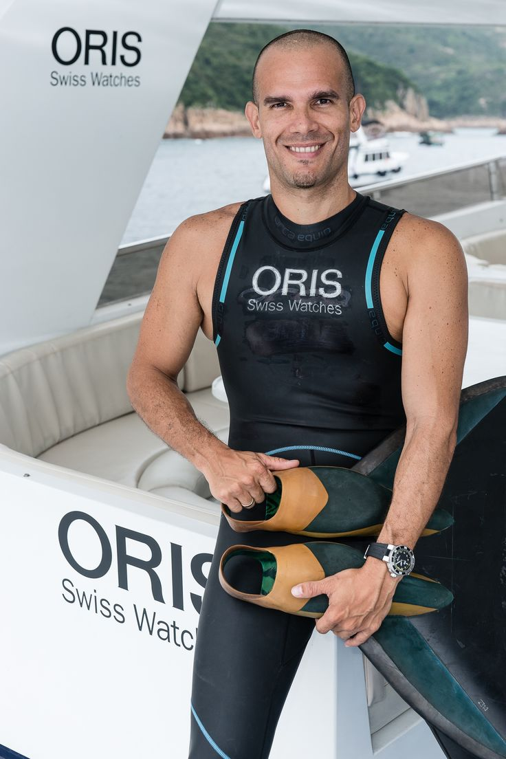 All Aboard! Oris wows guests with exclusive free diving event in Hong Kong, hosted by Oris' Brand Ambassador Carlos Coste.