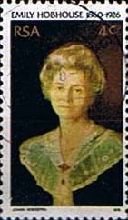 South Africa 1976 Emily Hobhouse Fine Used                    SG 408 Scott 469          Condition Fine Used    Only one post charge applied on