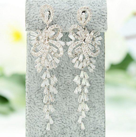 Best 25+ Bridal chandelier earrings ideas on Pinterest