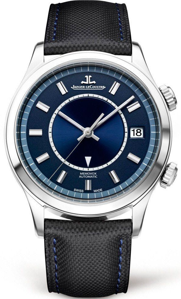 @jlcwatches Master Memovox #add-content #alarm-yes #bezel-fixed #bracelet-strap-leather #brand-jaeger-lecoultre #case-depth-14-1mm #case-material-steel #case-width-40mm #date-yes #delivery-timescale-1-2-weeks #dial-colour-blue #gender-mens #luxury #movement-automatic #official-stockist-for-jaeger-lecoultre-watches #packaging-jaeger-lecoultre-watch-packaging #style-dress #subcat-master #supplier-model-no-q141848j #warranty-jaeger-lecoultre-official-2-year-guarantee #water-resistant...