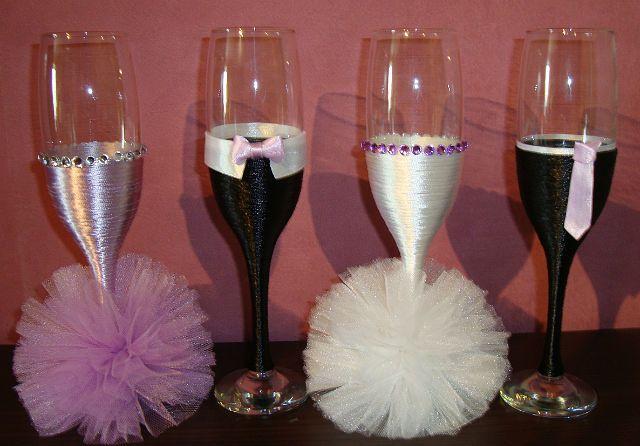 d corer les verres de mariage recherche google verre pinterest champagne and mariage. Black Bedroom Furniture Sets. Home Design Ideas