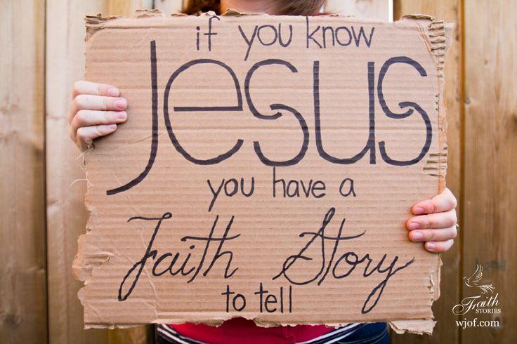 faith story.