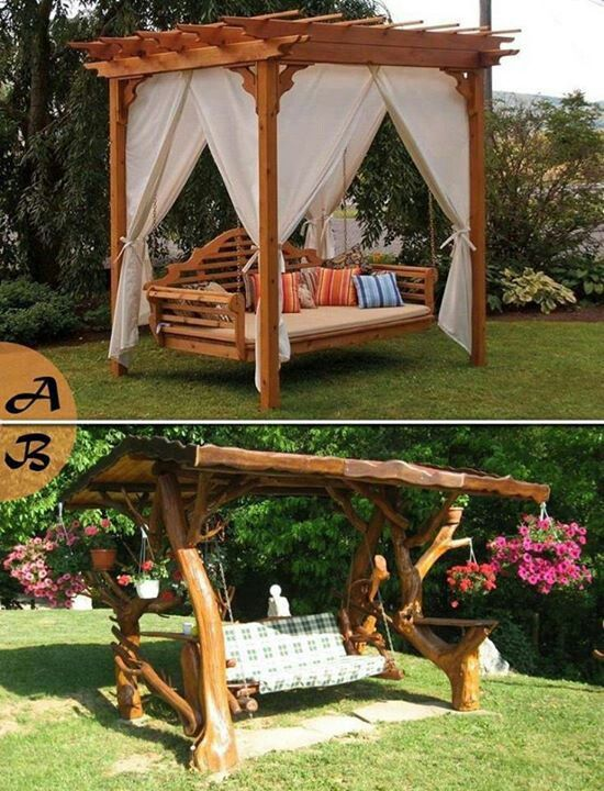 Yard swing yes yes I want this!!!                                                                                                                                                                                 More