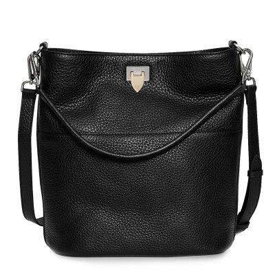 Decadent 423 Big Bucket Bag W/ Buckle Black