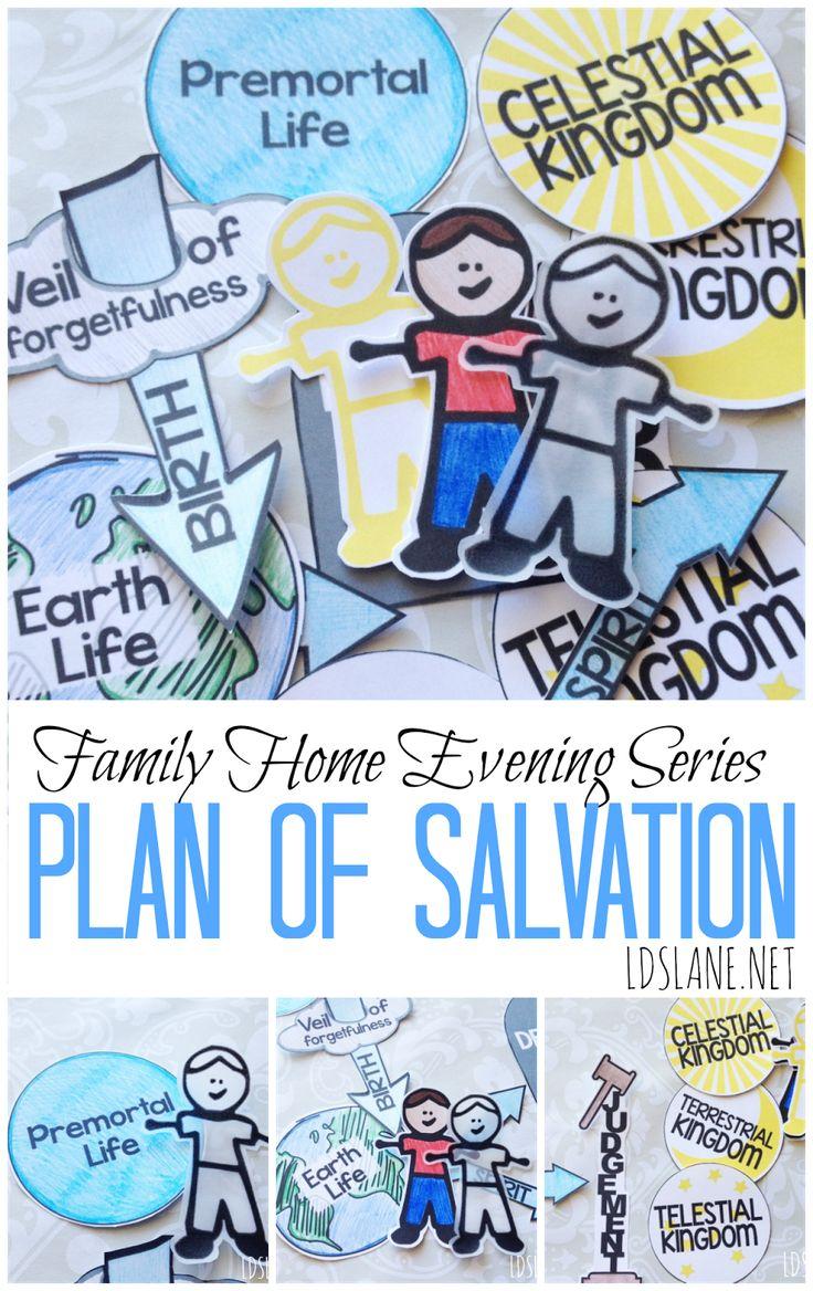 Family Home Evening Series: Plan of Salvation - free printables ldslane.net