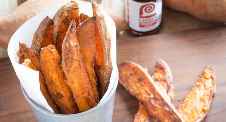 Sweet potato wedges recommended by Chrissy Teagan