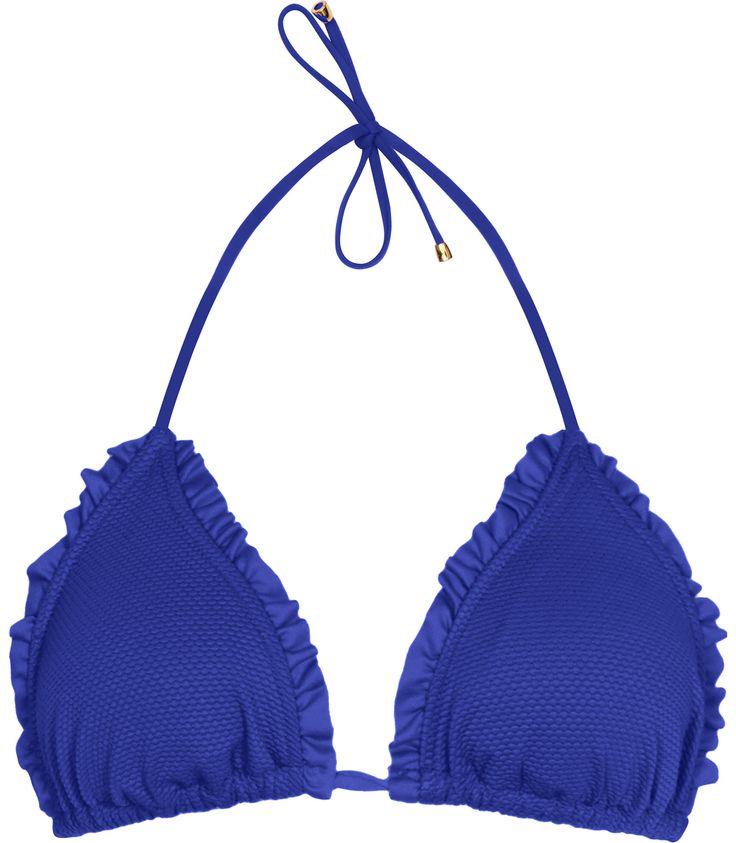 Womens Serpentine Textured Bikini Top - Reiss Pepita T