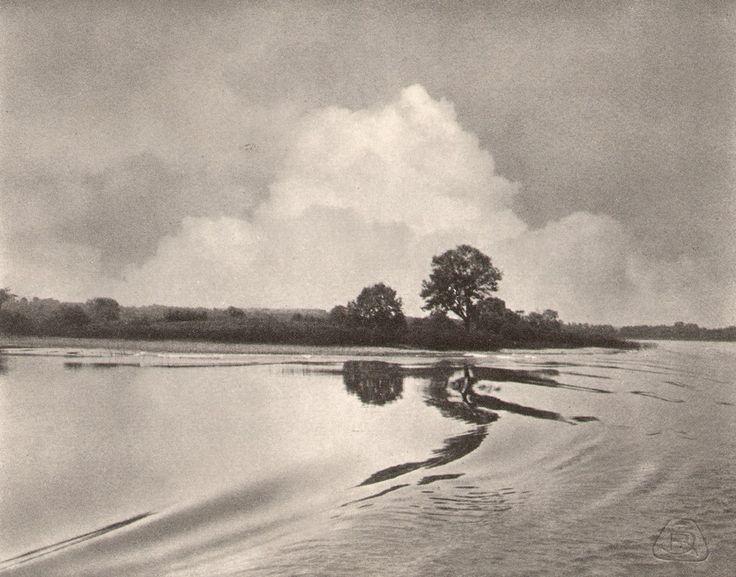 Raimund F. Schmiedt - Wetterstimmung am Chiemsee, 1906