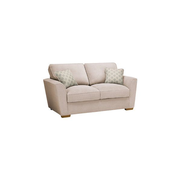 Fawn Fabric Sofas 2 Seater Sofa Bed Nebraska Range Oak Furnitureland 2 Seater Sofa Sofa Bed Cushions On Sofa